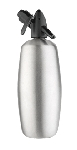 2 Quart Brushed Stainless Steel Soda Siphon plus a 2 FREE 10 packs of chargers